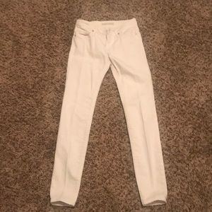 Joie white jeans! Flawless! Sz 24